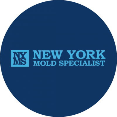 New York Mold Specialist Logo(Blue)
